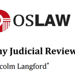 Why Judicial Review?