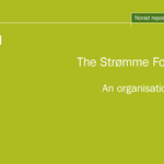 The Strømme Foundation. An organisational review
