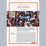 Crisis at South Africa's universities – what are the implications for future cooperation with Norway?