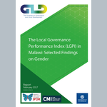 The Local Governance Performance Index (LGPI) in Malawi: Selected Findings on Gender