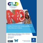 It Takes a Female Chief: Gender and Effective Policy Advocacy in Malawi