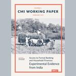 Access to Formal Banking and Household Finances: Experimental Evidence from India