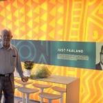Just Faaland receives award for Outstanding Contribution to the People of Malaysia