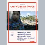 Preparing to leave? Household mobility decisions in climate affected areas of coastal Bangladesh