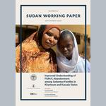 Improved Understanding of FGM/C Abandonment among Sudanese Families in Khartoum and Kassala States