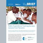 Public Expenditure Tracking Surveys: Lessons from Tanzania