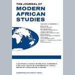 When Men do Women's Work: Structural Adjustment, Unemployment and Changing Gender Relations in the Informal Economy of Accra, Ghana