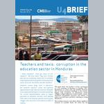 Teachers and Taxis: Corruption in the Education Sector in Honduras