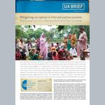 Mitigating corruption in informal justice systems: NGO experiences in Bangladesh and Sierra Leone