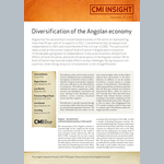 Diversification of the Angolan economy