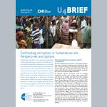 Confronting corruption in humanitarian aid: Perspectives and options