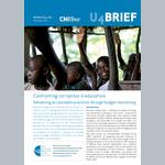 Confronting corruption in education: Advancing accountable practices through budget monitoring
