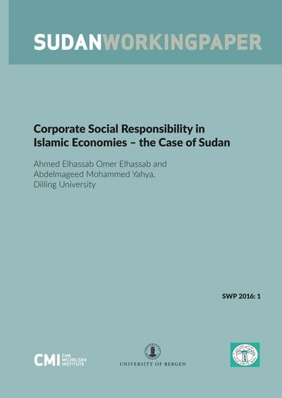 Corporate Social Responsibility in Islamic Economies – the