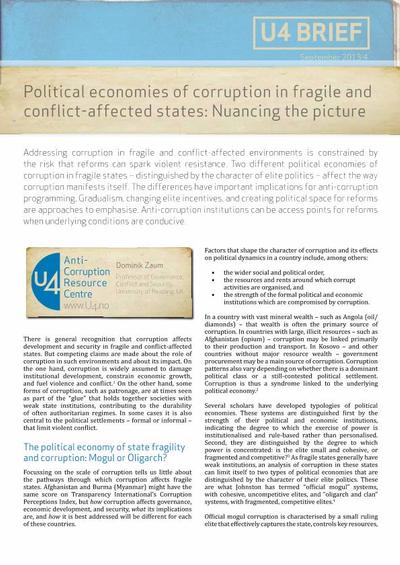 conflict can corrupt In demonstrating ways in which leadership can corrupt ways many instances of corruption can be understood as reflecting an important motivational conflict.
