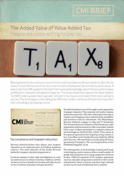 The Added Value Of Value Added Tax People Are More Willing