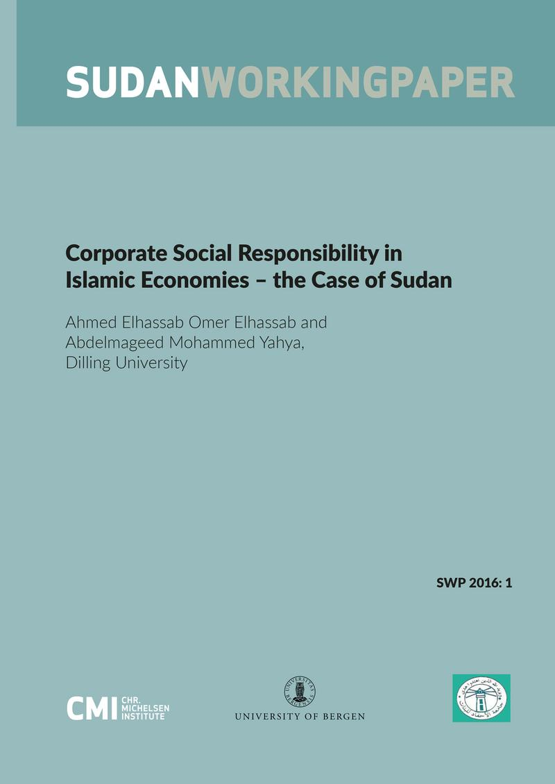 corporate social responsibility in islamic economies  u2013 the