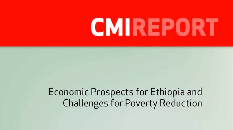 Economic Prospects for Ethiopia and Challenges for Poverty Reduction