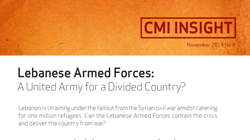 Lebanese Armed Forces: A United Army for a Divided Country?