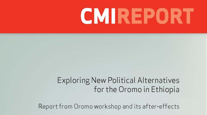 Exploring new political alternatives for the Oromo in Ethiopia